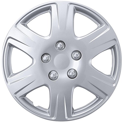 BDK Toyota Corolla OEM Style Hubcaps Wheel Cover, 15
