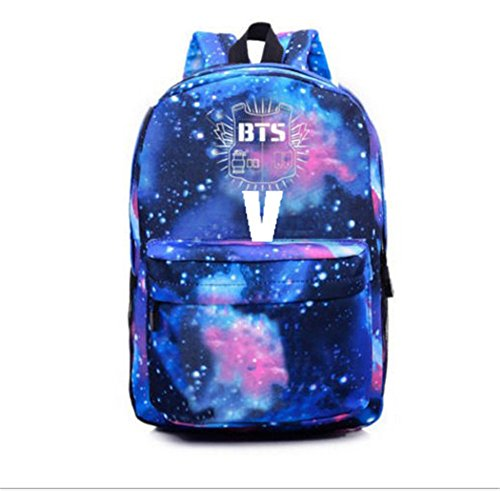Starry Bags Bangtan Satchel KPOP Sky Sports BTS V Boys 1 Backpack Schoolbag nFqxqZTRCw