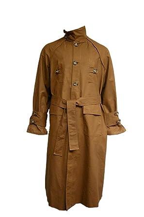 Blade Runner Coat Rick Deckard Trenchcoat Costume Brown (S)
