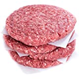 100% Grass Fed Ground Beef Patties 85% Lean, 15% Fat 1/4lb. (16 pack)