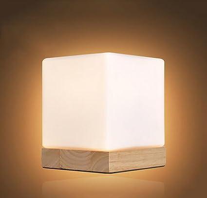 Popa Lámpara de Mesa de Dormitorio European Style Cuadrado ...