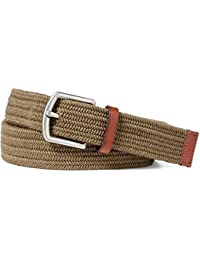 Stretch Waxed Cotton Belt