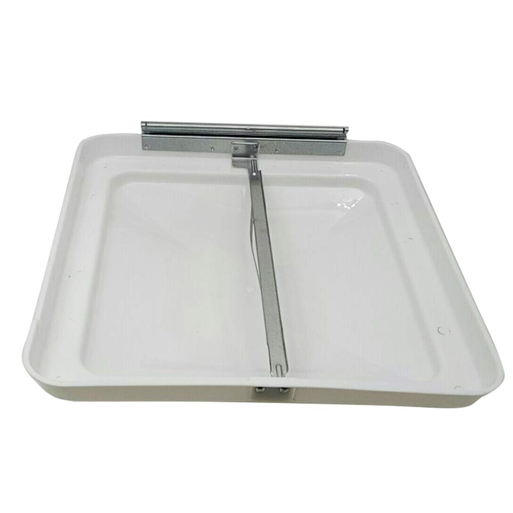 RV Roof Vent Lid Cover 14 inch Universal White Cover Lid for Motorhome Trailer RV Camper