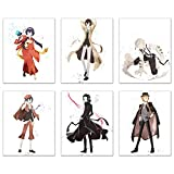 Watercolor Bungou Stray Dogs Prints - Set of 6