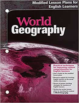Amazon com: World Geography: Modified Lesson Plans for English