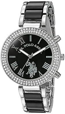 U.S. Polo Assn. Women's USC40085 Black Dress Watch