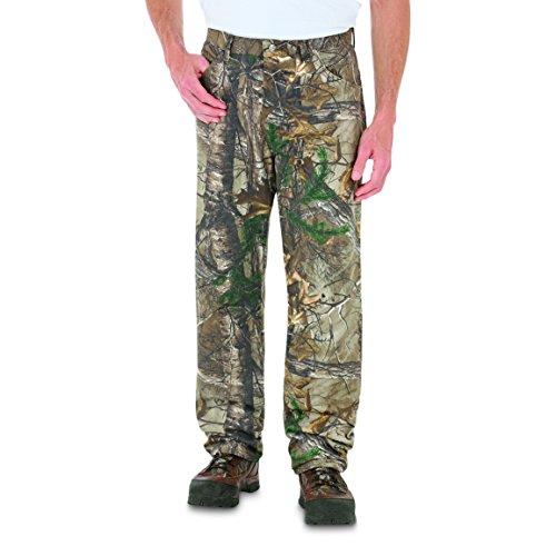 Wrangler Men's ProGear 5 Pocket Camo Jean, Realtree Xtra - 36L x 30W