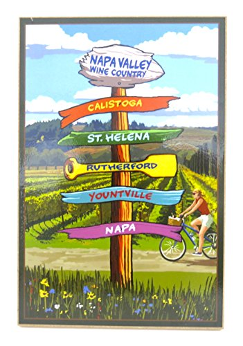 Napa Valley Wine Country Sign