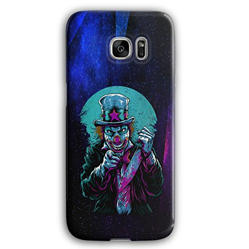 Clow Evil Scary Horror 3D Samsung Galaxy S7 Edge Case | Wellcoda