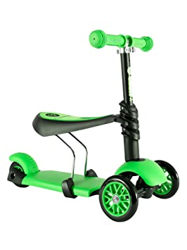 Ivolve Sports Y-Volution - Patinete YGlider 3 en 1 Verde