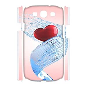 Samsung Galaxy S3 I9300 Phone Case, With My Love Image On The Back - Colourful Store Designed
