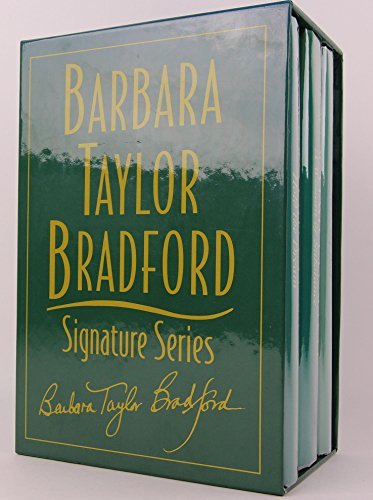 Barbara Taylor Bradford Signature Series Boxed Set 3 Books - To Be the Best, Hold the Dream & a Woman of Substance (Barbara Taylor Bradford To Be The Best)