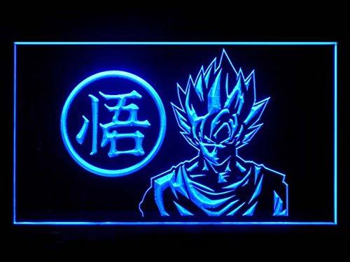 Dragon Z GT Super Saiya Son Goku (Pattern 1) Advertising LED Light Sign J816B (Neon Dragon)
