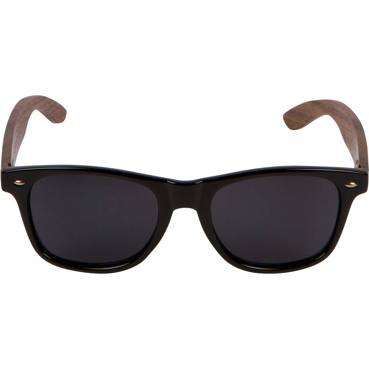 WOODIES Walnut Wood Wayfarer Sunglasses with Polarized Lens in Wood Display Box for Men or Women by Woodies (Image #5)
