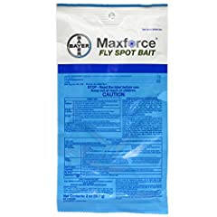 Maxforce Fly Spot Bait is the best choice quickly eliminate pesky flies. This product kills flies in less than 60 seconds!! Simply take one package of Maxforce Fly Spot Bait and mix with 16 ounces of water, then spray any surface and watch th...