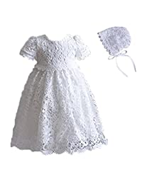 kids Showtime Baby Girl Flower Sleeveless Lace Dress Christening Princess Gowns