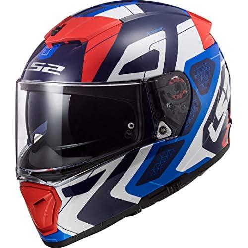 chollos oferta descuentos barato LS2 Casco de moto FF390 BREAKER ANDROID Azul Rojo Azul Blanco Rojo S