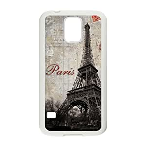 Nymeria 19 Customized Eiffel Tower In Paris Diy Design For Samsung Galaxy S5 Hard Back Cover Case DE-17