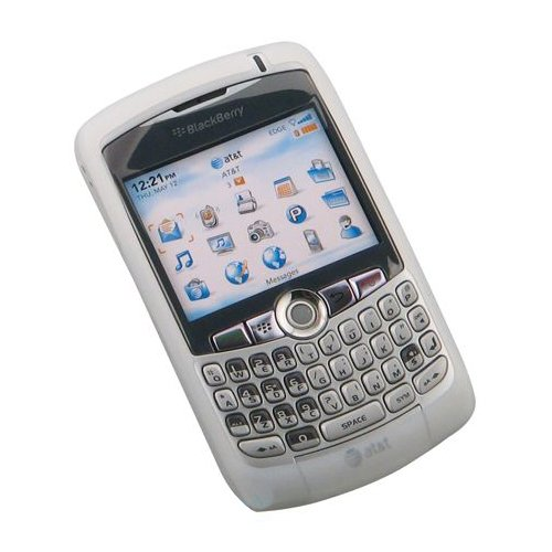 Blackberry Curve Skin - Non-Retail Packaging - White