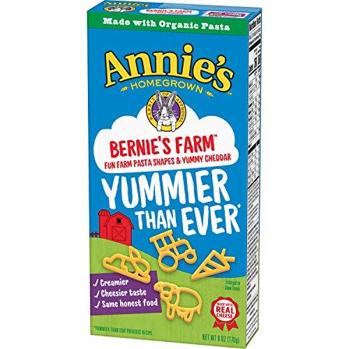 Annie's Homegrown Bernie's Mac & Cheese With Fun Farm Shapes, 6 Ounce (2)