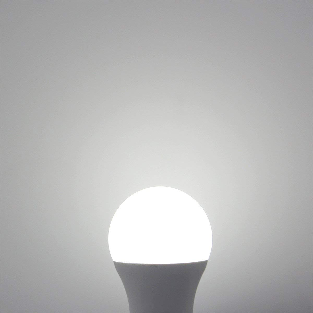 YAYZA! 1-Paquete E27 ES Rosca Edison 10W Seguridad Toda la Noche LED A60 Bombilla Globo Sensor Fotocélula Integrado 1000lm Equivalente Incandescente ...