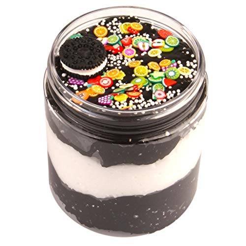 Ecurson Slime suy 140ml Chocolate, Biscuit, Cotton mud/Fruit Slice Slime Slime Ramen mud/DIY Color Clay Toy for Kids& Adults