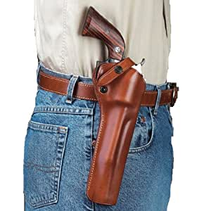 Galco SAO Single Action Outdoorsman Holster for Long Barrels Ruger .44 SUPER Blackhawk 7 1/2-Inch (Tan, Right-hand)