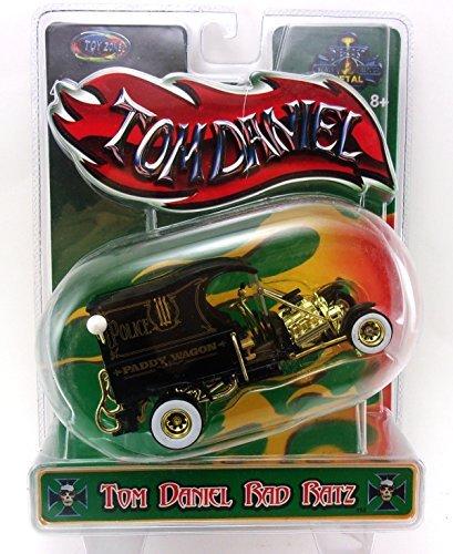 Tom Daniel's RAD RATZ 1:43 Diecast Old Skool Rat Rod - Paddy Wagon by Tom Daniel