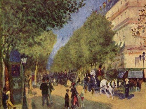 Lais Jigsaw Pierre-Auguste Renoir - The Grand Boulevards 200 Pieces