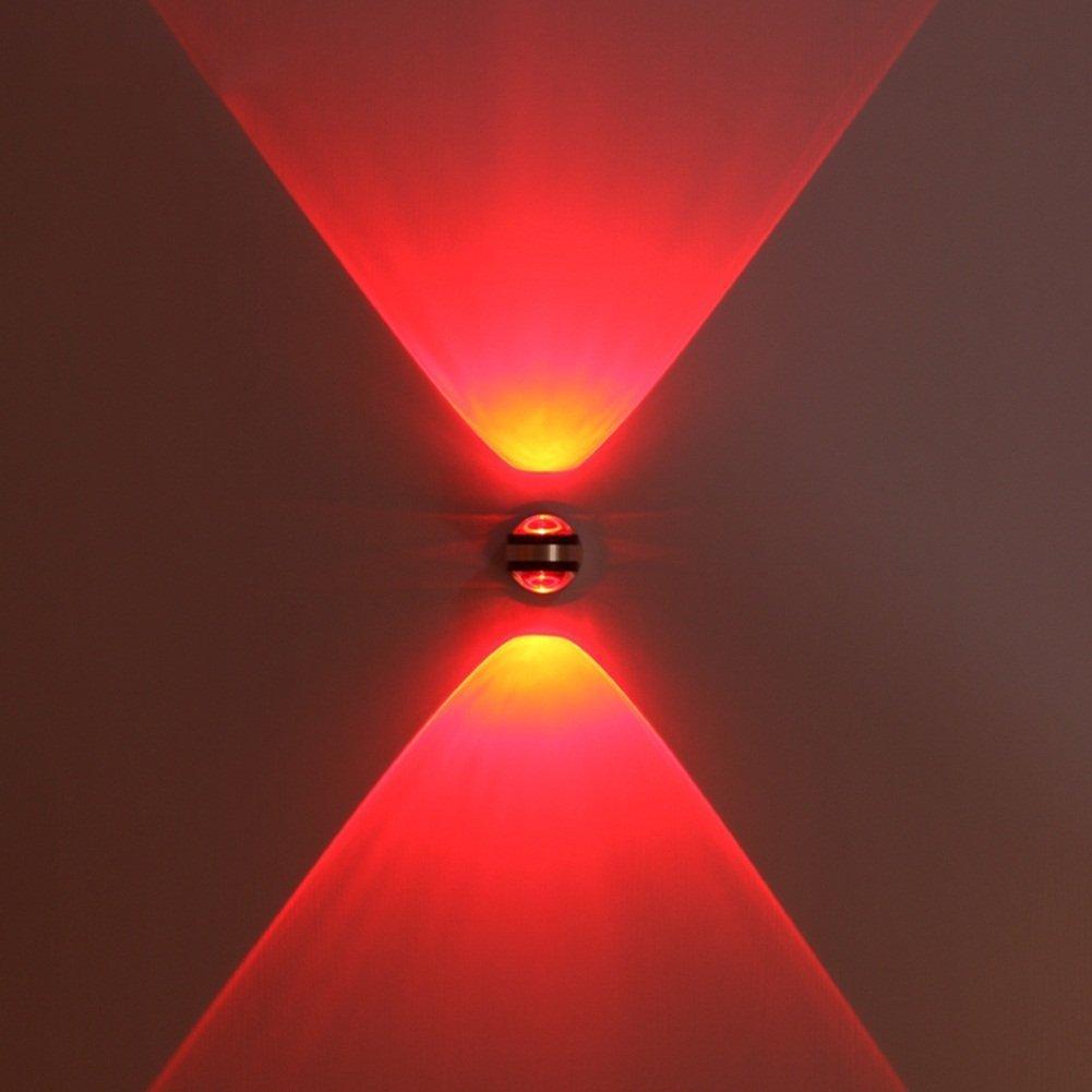 GBYZHMH LED luce da parete, moderno minimalista faretti LED Indoor Lampada da parete Bar negozio di abbigliamento Hotel parete parete di sfondo illuminazione decorativa ( COLORE : verde )