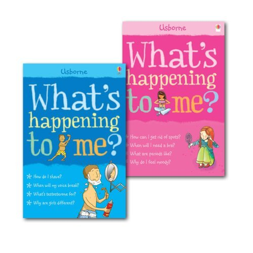 What's Happening to Me? Collection 2 Books Set, (What's Happening to Me? (Girls Edition) (Facts of Life) & What's Happening to Me?: Boy)