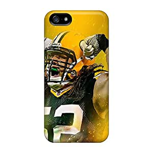 High Quality Hard Phone Cover For Apple Iphone 5/5s (WVu156bboA) Support Personal Customs Lifelike Green Bay Packers Pictures