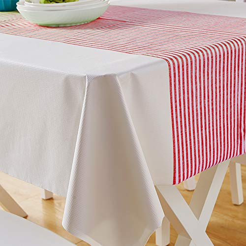 Cover Paper Table Rectangular (Degradable Disposable Tablecloth 10 Pack Rectangular Paper-plastic Environmentally Friendly Thickened Plastic Table Cover 47