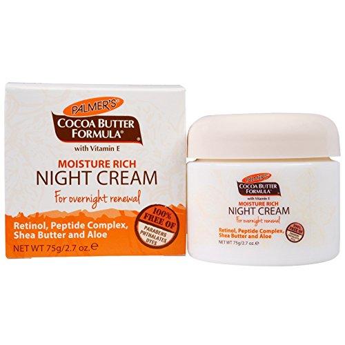 Palmer's Moisture Rich Night Cream with Retinol for Overnight Renewal, (Water Rich Moisture)