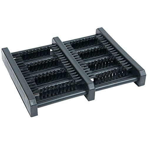 Jobsite Boot Scrubber Flat Mat Scraper Brush - As Seen on TV