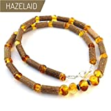 Hazelaid (TM) Adult Hazelwood-Amber Necklace - 20' Honey
