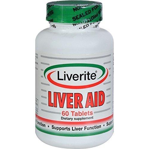 Liverite, Liver Aid 60 Tablets Liverite (Liver Liverite Aid)
