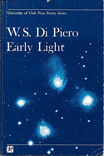 Early light (University of Utah Press poetry series)