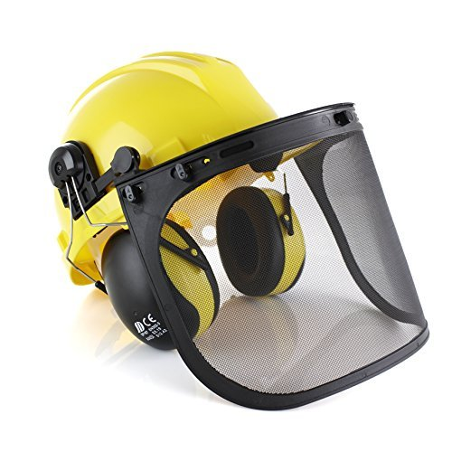 TR Industrial Forestry Safety Helmet and Hearing Protection System by TR Industrial