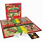 Contains: 1 Game Board, Spinner Card, Spinner, 8 Pawns, 75 Cards with 300 Questions & Answers, Instructions.