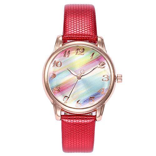 Amazon.com: Clearance Sale! Womens Watch, Iuhan Womens Girls Casual Quartz Leather Band Strap Tie-Dye Watch Analog Wrist Watch Bracelet (H): Cell Phones & ...