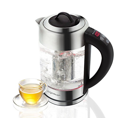 Aigostar Krystal 30KLV - Electric Kettle with Temperature Control, Keep...