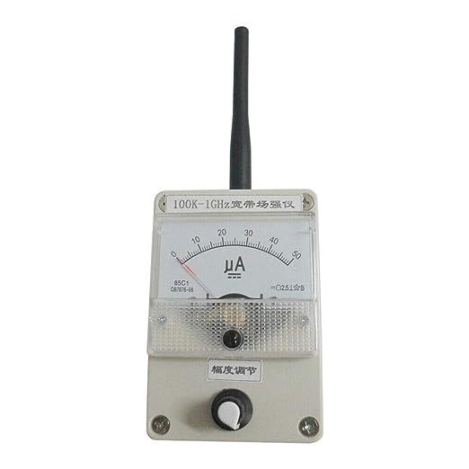 Berkalash - Medidor de intensidad de campo (100 K-1 GHZ ...
