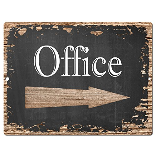 Gentil OFFICE Chic Sign Rustic Shabby Vintage Style Retro Kitchen Bar Pub Coffee  Shop Wall Decor
