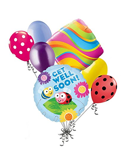 Well Soon Balloon Bouquet - 3