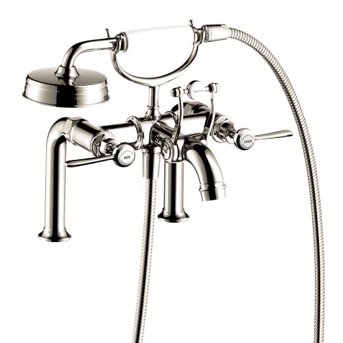 Hansgrohe 16552831 Axor Montreux Tub Filler with Lever Handle, Polished Nickel