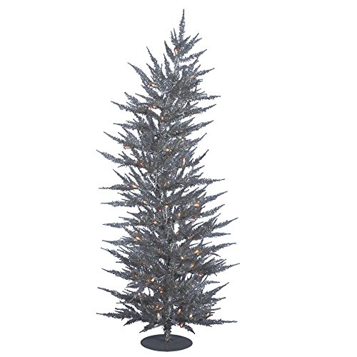 Vickerman Silver Laser Christmas Tree