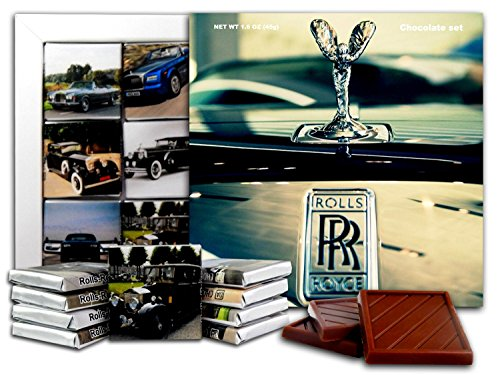 DA CHOCOLATE Candy Souvenir ROLLS-ROYCE Chocolate Gift Set 5x5in 1 box (Logo 0805)
