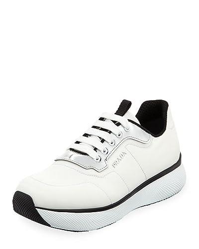 cb02b436a2320 Amazon.com | Prada Two-Tone Nylon Platform Trainer Sneakers Shoes 41 ...
