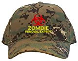 Best Caps With Removals - Zombie Removal Expert Embroidered Baseball Cap - Digital Review